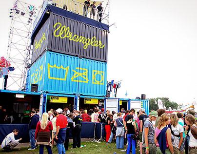 Wrangler Laundromat at Lowlands festival at BSUR
