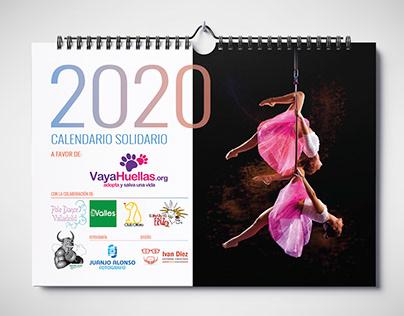 Vaya Huellas | Calendario 2020 | Diseño gráfico
