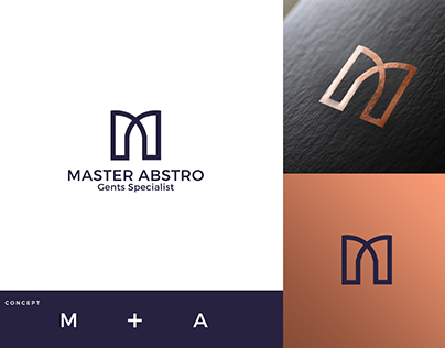 MASTER ABSTRO - Logo design