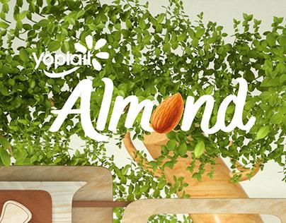 Yoplait - Almond