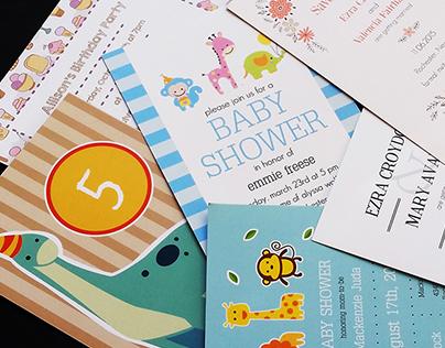 CatPrint Internship Customizable Greeting Cards