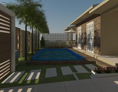Projeto de Revitalização - Fachada Residencial