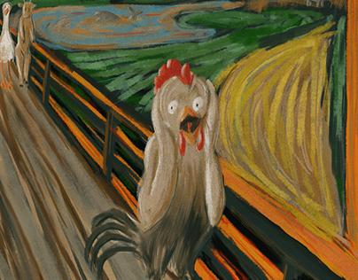 """#MunchContest """"Scream in the farm"""""""