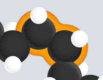 Illustration & Molecule Design for Elysium Health