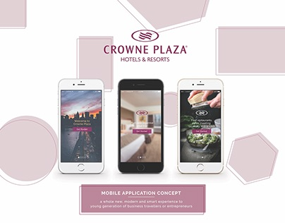 Crowne Plaza App Design Proposal