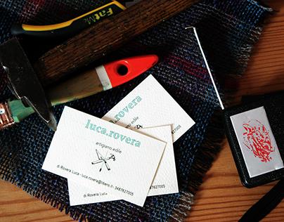 Artisan's business card