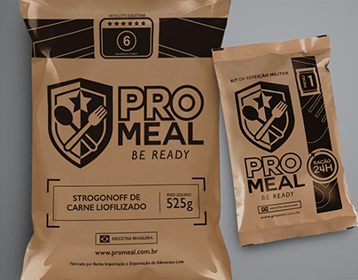 ProMeal - Brand Identity