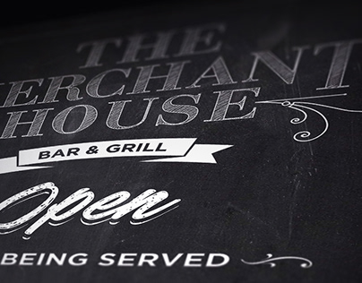 The Merchant House - Selected Chalkboard Designs