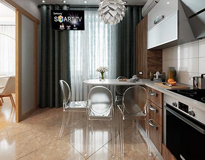 Work draft kitchen 3-room apartment