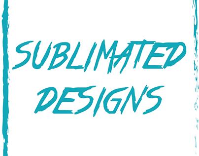 Sublimated Designs T-Shirts V1