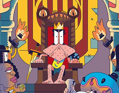 Kikito I d'Aragó - Book Cover & illustrations