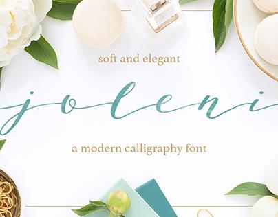 Joleni - Modern Calligraphy Font