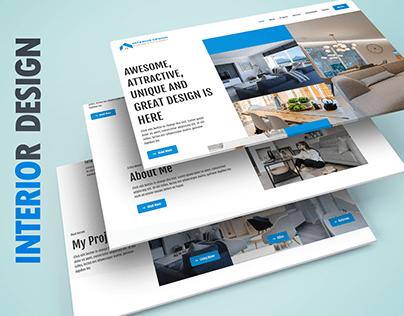 Interior Design | Wordpress Responsive Website