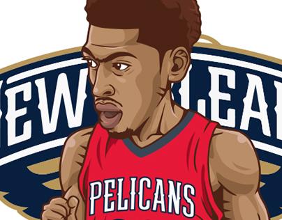 NBA player illust