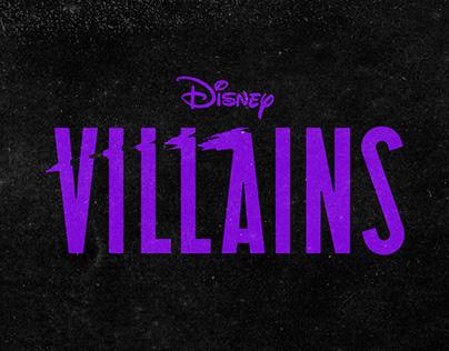 DISNEY Villains - Program 1