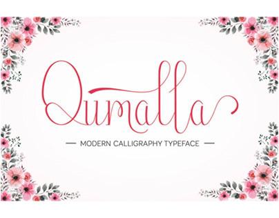 Qumalla Font