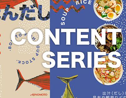 Ajinomoto Hondashi Instagram Content Series