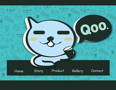 Delightful Qoo promote website