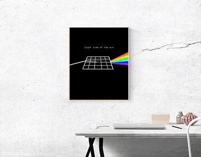 Light Side of the Sun│Solar Poster for LW2 Solutions