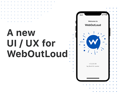Web Out Loud - Redesign Project