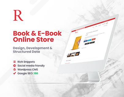 Book & E-Book Online Store | Web Design & Development
