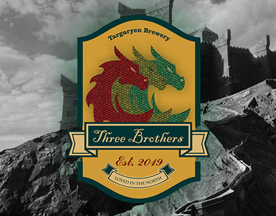 "Game of Thrones Targaryen Brewery ""Three Brothers"""
