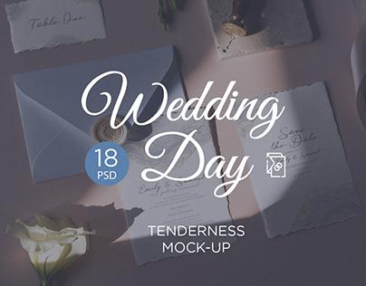 Wedding Day Mock-Up