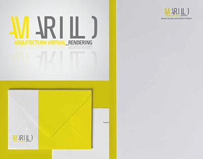 AMARILLO Rendering - Logo and Stationary Design