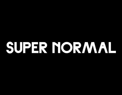 Super Normal — Font