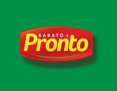 Barato e Pronto - Brand Identity