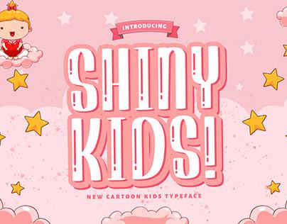Shiny Kids - Playful Display Font