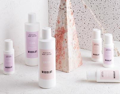Woodlot Liquid Soap Packaging Design