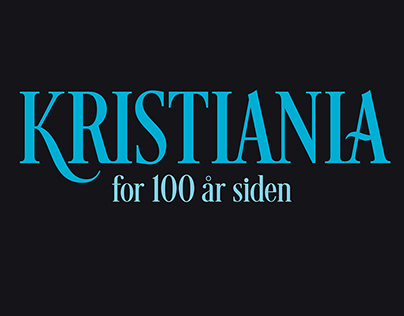 Kristiania for 100 år siden