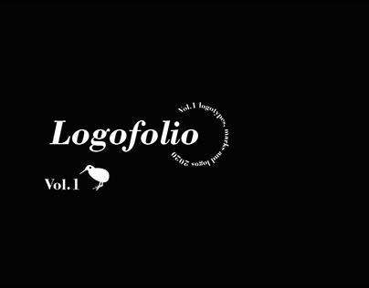 Logofolio, volume 1 - white and black