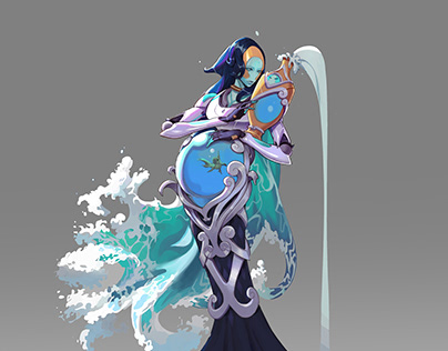 Character Design- Goddess of Water