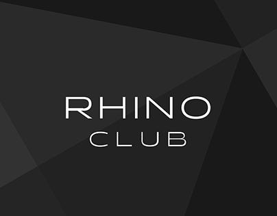 Rhino Club branding