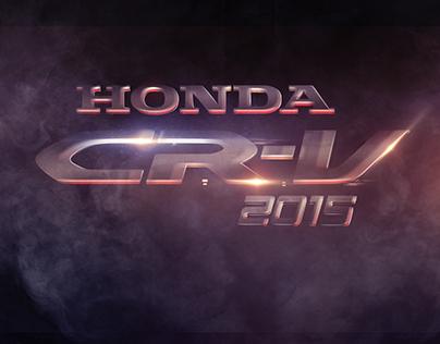 HONDA CR-V 2015 RETOUCH