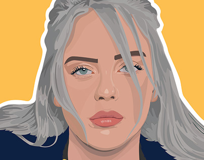 Celebrity Portrait Illustration