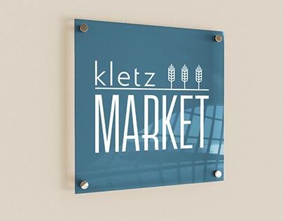 Kletz Market Logo and Mockups