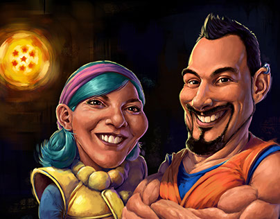 Dragon Ball Z - Caricature Commission