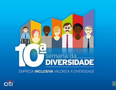 10ª Semana da Diversidade - Citi - 2015