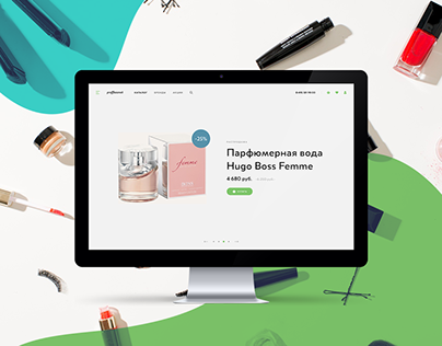 Online Store - Cosmetics / Welon Creative Agency