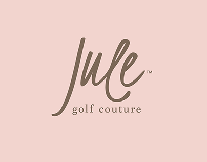 Brand identity for golf clothing for women