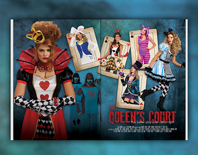 Leg Avenue - Alice in Wonderland themed section covers