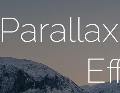Parallax effect.