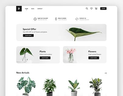 Plant Shop - Website