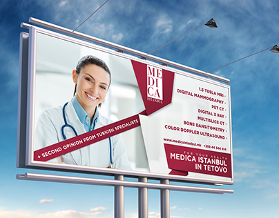 Billboard design - Turkish hospital