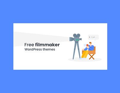 Filmmaker Wordpress Theme Banner Design