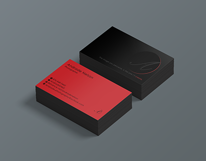 A photographer's Business cards
