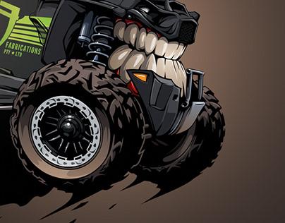 Polaris RZR #BeastedUp